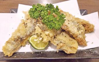いわし天ぷら燻製風味