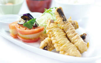 イワシのフリッター タルタルソース(定食)