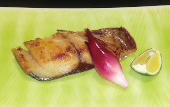 道産ブリの吟醸粕味噌焼き